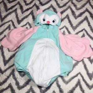 Adorbs, baby owl, Halloween costume!!
